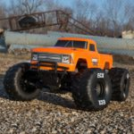 1/10 Amp Crush 2wd Monster Truck Brushed Rtr International, Orange (ecx03048it2)