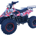 Hawkmoto Boulder Kids Quad 110cc – Extreme Red