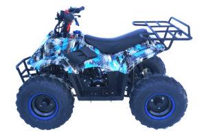 Hawkmoto Boulder 110cc Kids Quad – Extreme Blue