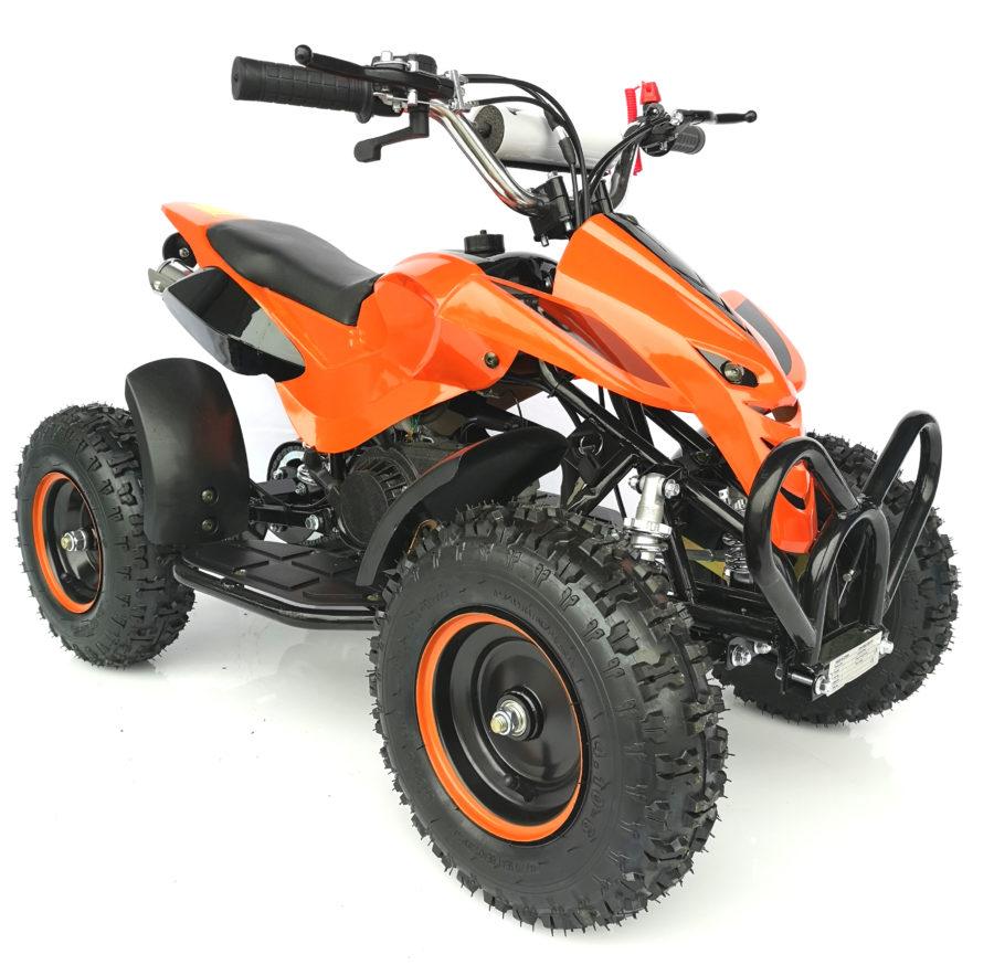 Mini kids quad hawkmoto nitro orange