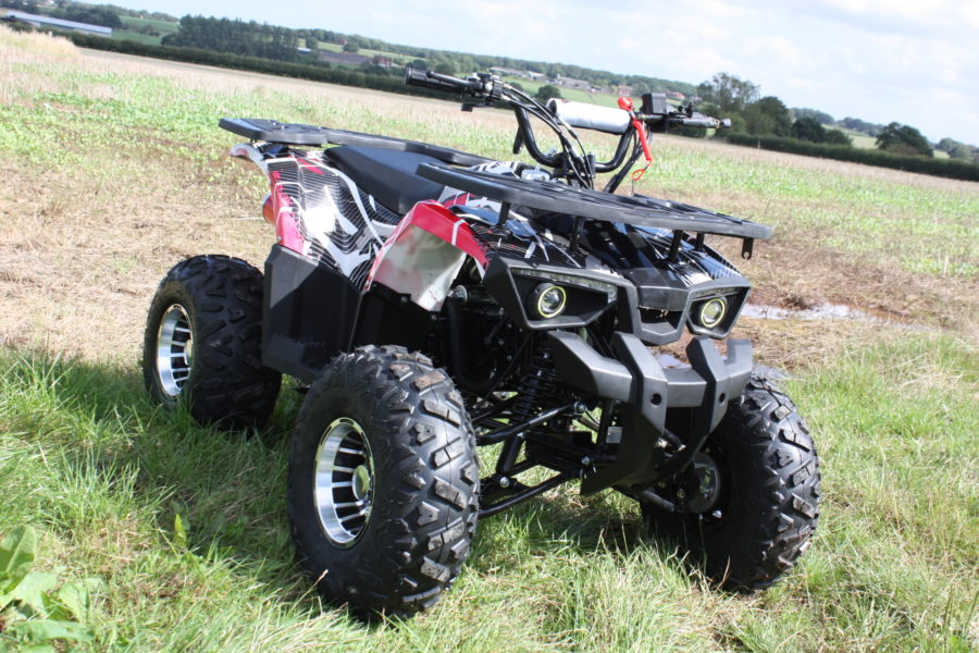 Hawkmoto 125cc Enforcer Kids Quad Bike Automatic