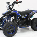 Hawkmoto Avenger 50cc Quad Bike For Kids – Amazing Blue