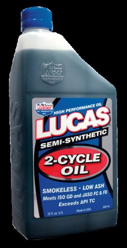 Lucas Semi Synthetic 2 Stroke Oil
