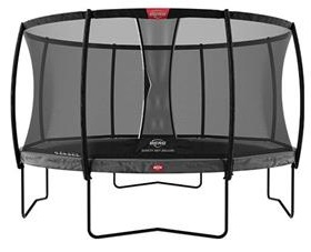 Berg Champion Regular 330 Grey With Safety Net Deluxe