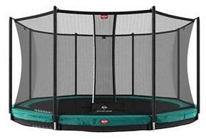 Berg Champion Inground 330 Green + Safety Net Comfort