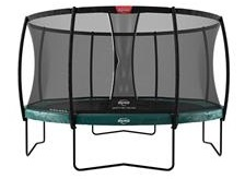 Berg Elite 380 Trampoline Grey With Safety Net Deluxe