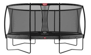 Berg Grand Champion 520 Grey With Safety Net Deluxe
