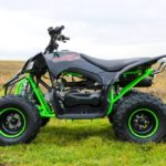 Quadzilla Spider 110cc Kids Quad Bike  Black